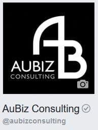 AuBiz Consulting Facebook Badge
